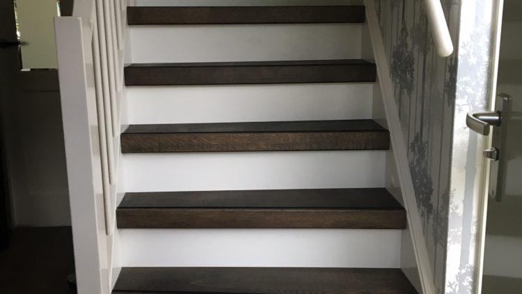trap afgewerkt