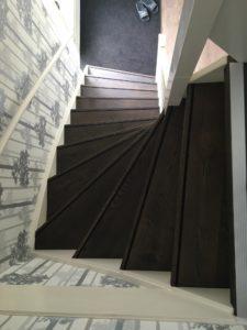 Gerenoveerde trap